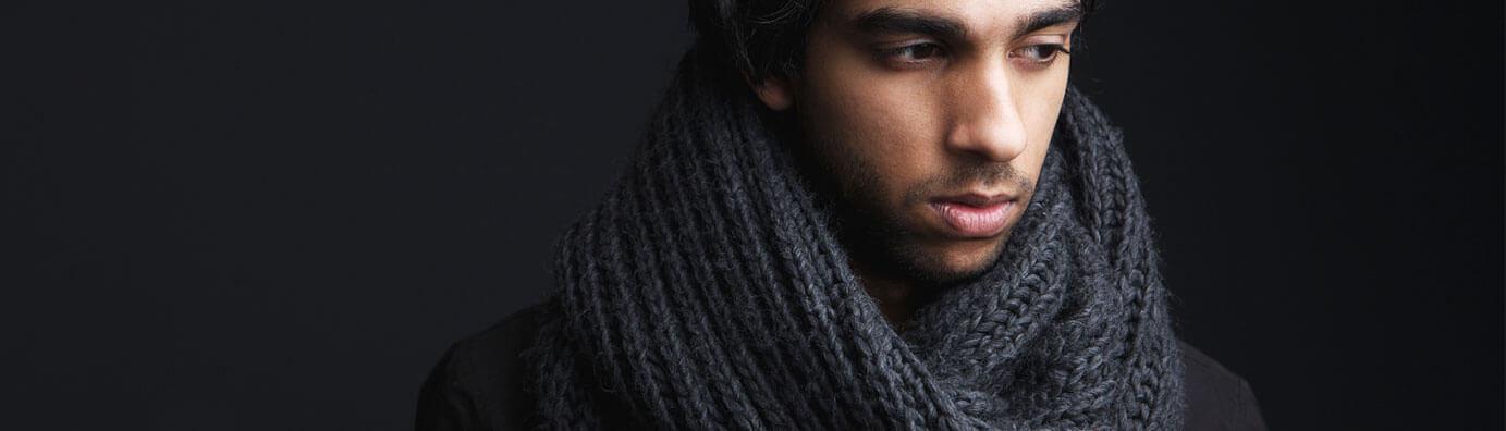Bufandas, pañoletas o chalinas. ¿Cómo usarlas?