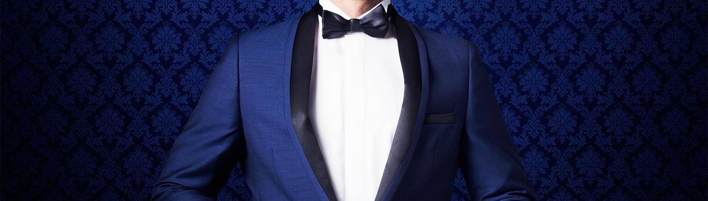 El azul cobalto, nuevo color que llega al closet de los hombres